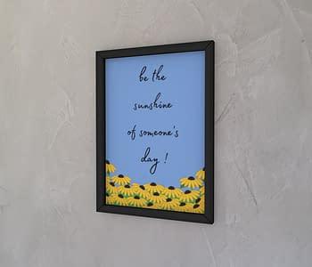 dobra - Quadro - Sunflowers garden