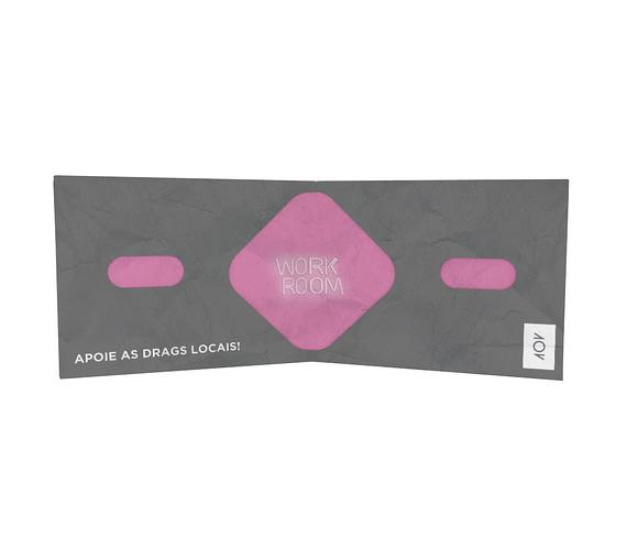 dobra - Nova Carteira Clássica - Workroom - Drag race Preta