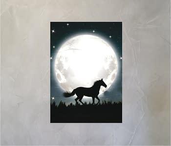 dobra - Lambe Autoadesivo - O cavalo e a lua