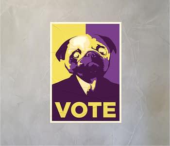 dobra - Lambe Autoadesivo - Vote Batman
