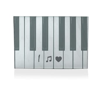 dobra porta cartao i love piano