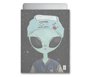 dobra - Capa Notebook - Alienígena descolado