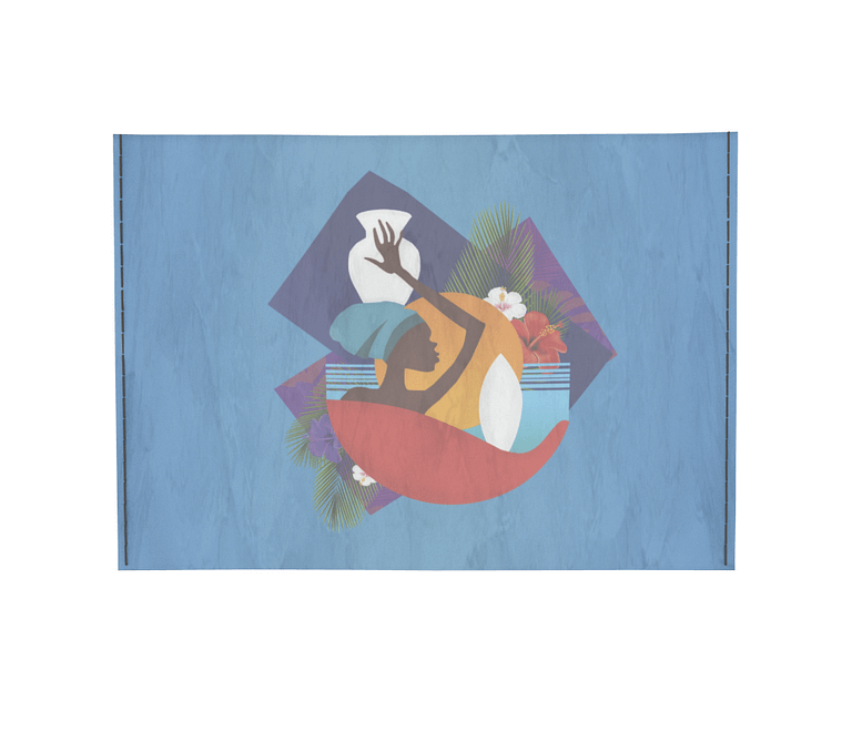 dobra - Porta Cartão - Africa colorida