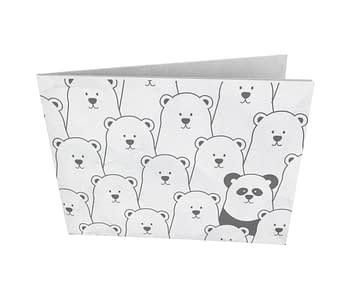 dobra - Nova Carteira Clássica - Panda Intruso