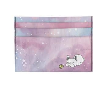 dobra - Porta Cartão - Doguinho dormindo