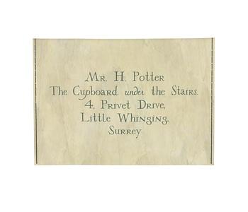 dobra - Porta Cartão - Carta de Hogwarts