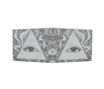 dobra - Nova Carteira Clássica - O olho que tudo vê