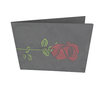 dobra - Nova Carteira Clássica - rosas são vermelhas