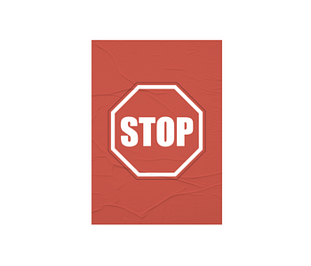 dobra - Lambe Autoadesivo - STOP