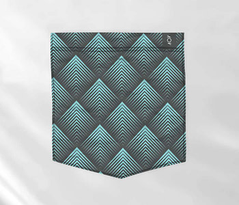 dobra bolso filetes triangulares