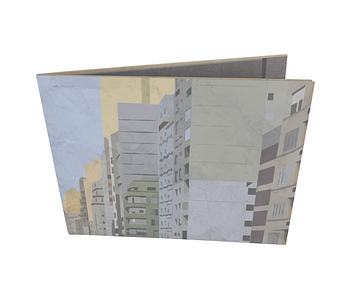 dobra - Nova Carteira Clássica - vista da cidade