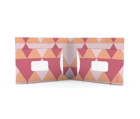 dobra triangulos rosinhas