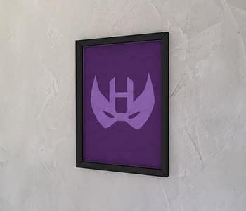 dobra - Quadro - Minimalist Hawkeye