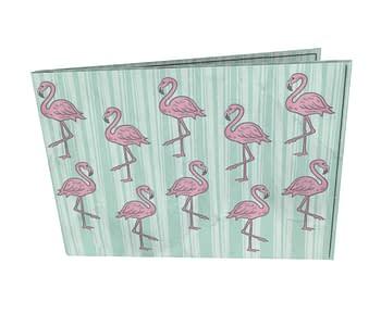 dobra - Carteira Old is Cool - Flamingos Fabulosos