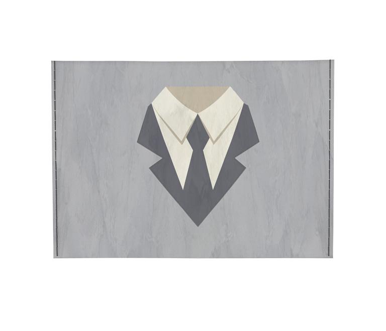 dobra - Porta Cartão - Homens de terninho