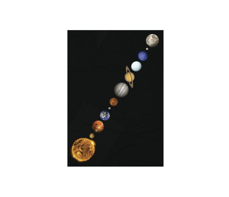 dobra - Lambe Autoadesivo - Sistema Solar