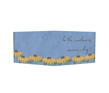 dobra - Carteira Old is Cool - Sunflowers garden