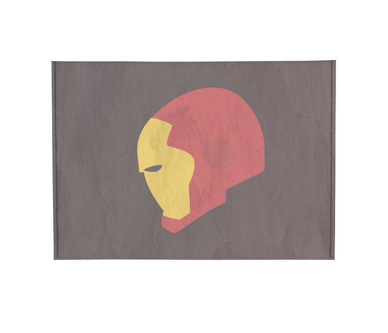 dobra - Porta Cartão - Homem de Ferro minimalista