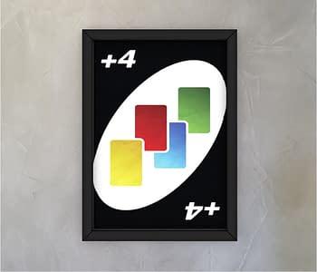dobra - Quadro - Carta +4 - Baralho Dobra