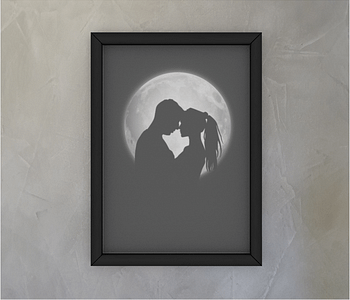 dobra - Quadro - Shadows of love