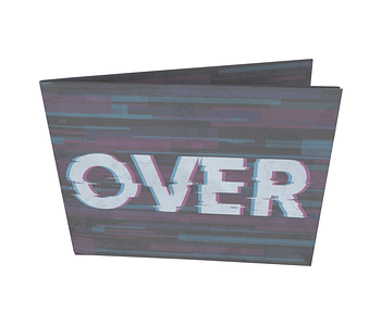 dobra - Nova Carteira Clássica - Game Over Glitch
