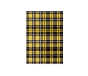 dobra - Lambe Autoadesivo - xadrez amarelo