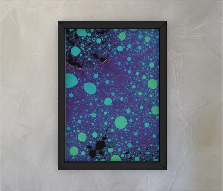 dobra - Quadro - Respingos fluorescentes