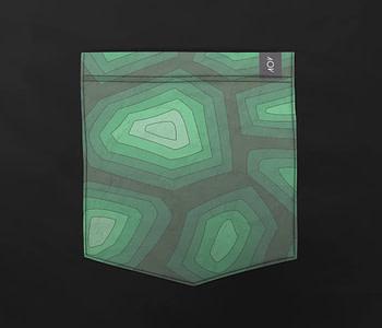 dobra bolso tartaruga verde