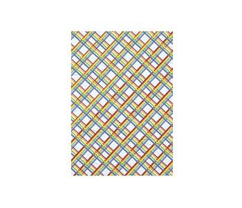 dobra - Lambe Autoadesivo - Arco-iris Geométrico
