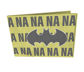 dobra - Carteira Old is Cool - na na na na na na batman