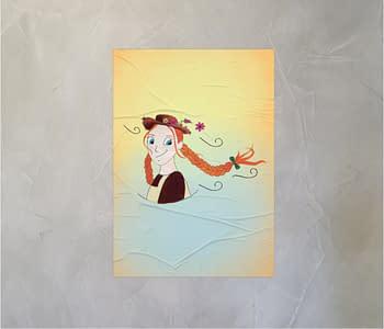 dobra - Lambe Autoadesivo - A garota ruiva
