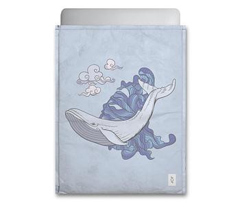 dobra - Capa Notebook - Baleia