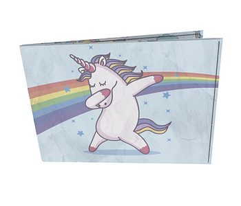 dobra - Carteira Old is Cool - Dab Unicornio