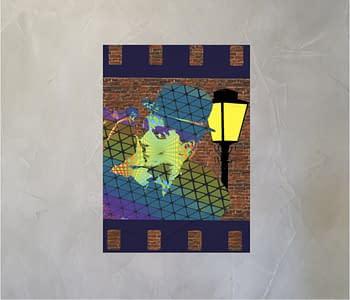 dobra - Lambe Autoadesivo - Arte Urbana - Chaplin
