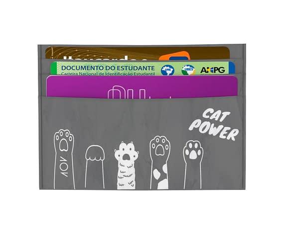 dobra - Porta Cartão - Black Cat Power