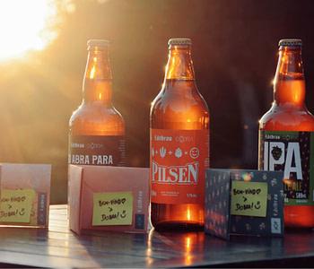 kit de cerveja