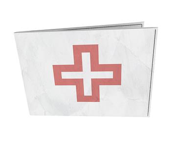dobra - Carteira Old is Cool - Cruz Vermelha
