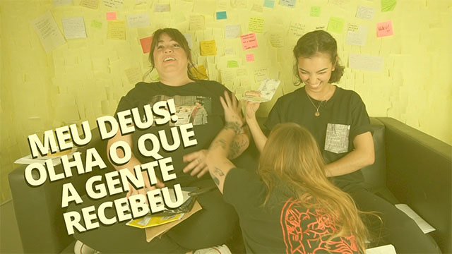 video youtube - recebidos dessa e laissa