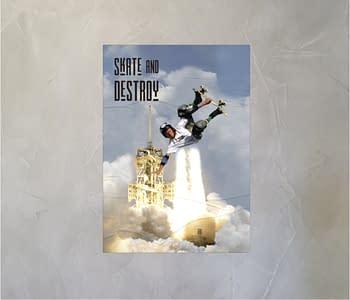 dobra - Lambe Autoadesivo - Skate & Destroy