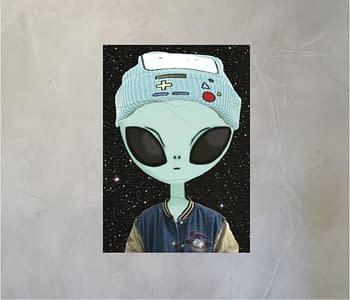 dobra - Lambe Autoadesivo - Alienígena descolado
