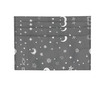 dobra - Porta Cartão - Black Moon and Stars