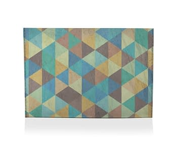 dobra porta cartao geometrico cores