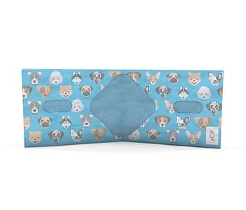 dobra nova classica cachorrinhos azul