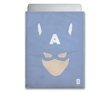 dobra - Capa Notebook - Minimalist Cap. America