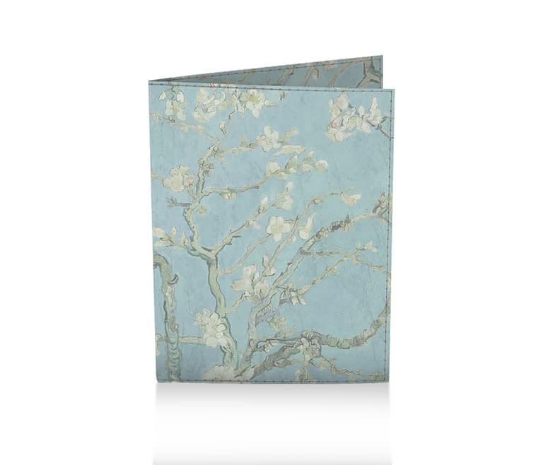 dobra porta passaporte amendoeira em flor