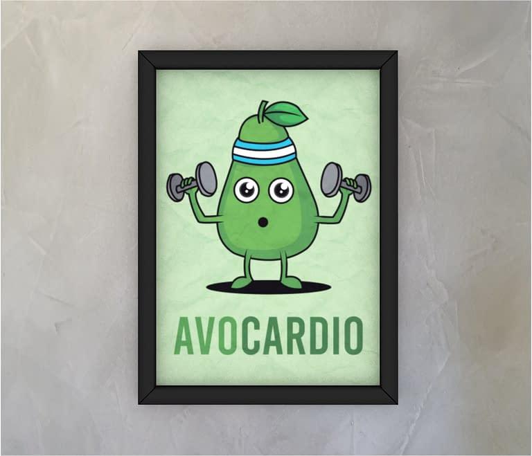 dobra - Quadro - Avocardio: O abacate fitness