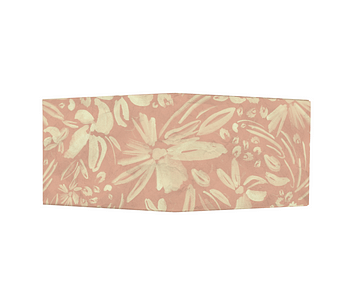 dobra - Nova Carteira Clássica - Floral Aquarelado