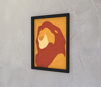 dobra - Quadro - The lion