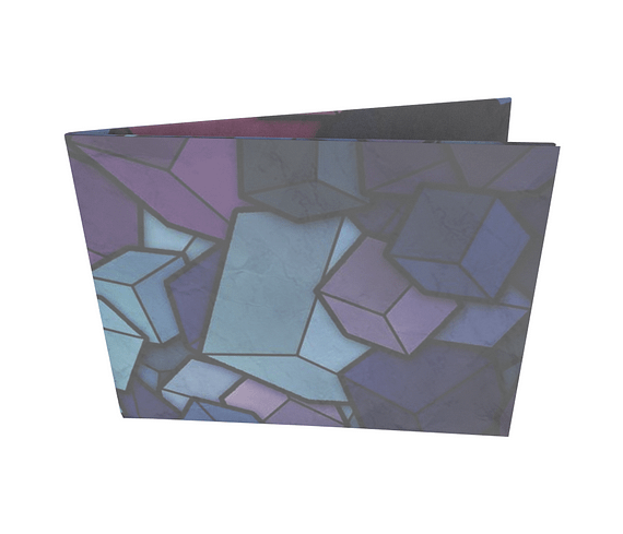 dobra - Nova Carteira Clássica - Cubos