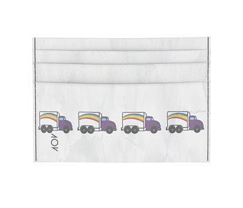 dobra - Porta Cartão - Caminhão Arco Iris